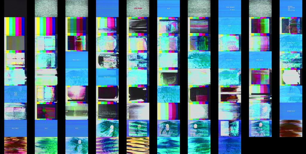 VIDEO SWIMMER IN BLUE